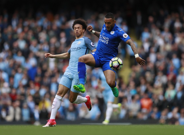 Man City vs Leicester anh 18
