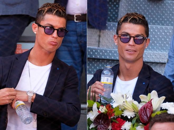 Ronaldo vui ve, hai huoc du khan dai chien Nadal vs Djokovic hinh anh 6