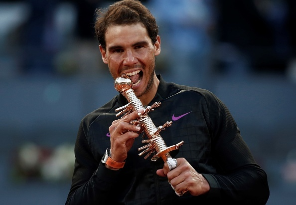 Vo dich Madrid Open, Nadal can bang ky luc cua Djokovic hinh anh 1