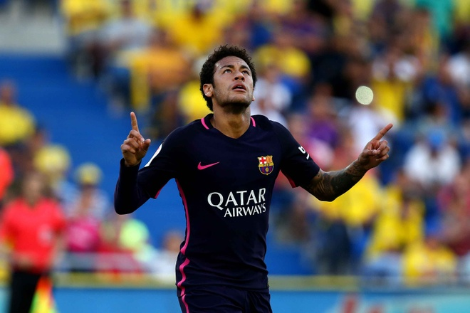 Neymar lap hat-trick, Barca van xep tren Real hinh anh 2