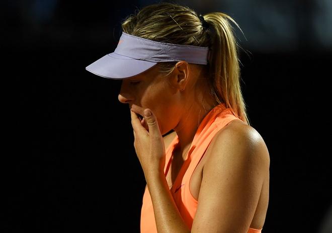 Sharapova bo cuoc giua chung, khong duoc du Roland Garros hinh anh 1