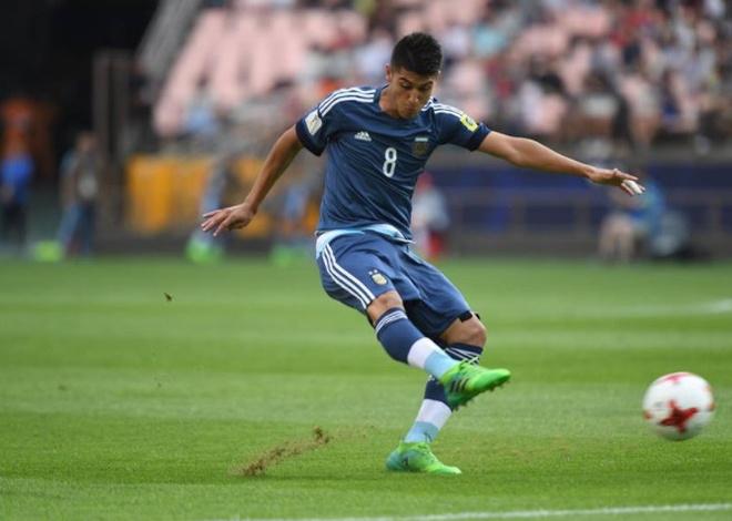 U20 Argentina vs U20 Anh (0-3): Tam Su khoi dau hoan hao hinh anh 1
