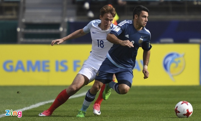 U20 Argentina vs U20 Anh (0-3): Tam Su khoi dau hoan hao hinh anh 30
