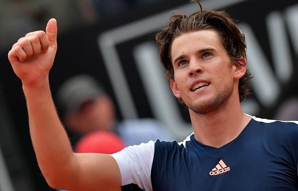 Video Nadal that bai truoc Thiem o tu ket Rome Masters hinh anh