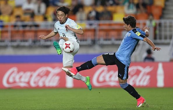Phung phi co hoi, Nhat Ban thua tran dau tien tai U20 World Cup hinh anh 1