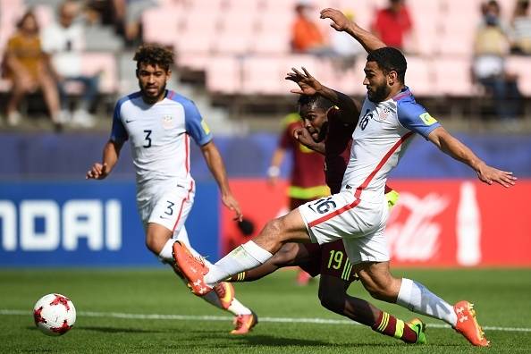 Ngua o U20 Venezuela vao ban ket sau 3 ban thang o hiep phu hinh anh 19