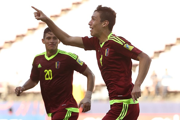 Ngua o U20 Venezuela vao ban ket sau 3 ban thang o hiep phu hinh anh 1