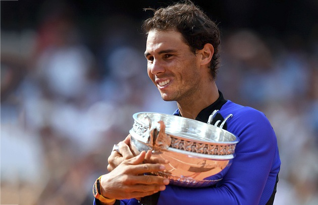 Nadal lap ky luc lan thu 10 vo dich Roland Garros hinh anh 1
