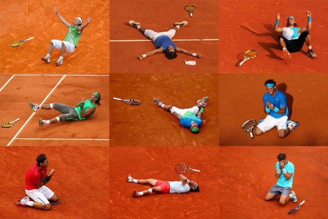 Nadal lap ky luc lan thu 10 vo dich Roland Garros hinh anh 4