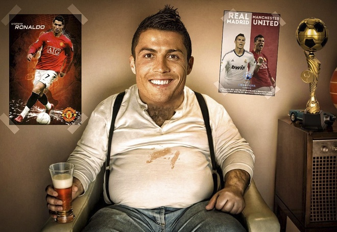 Doi bong hang 3 Duc dung chieu doc moi goi Ronaldo hinh anh