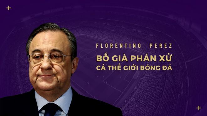Florentino Perez, 'bo gia' phan xu ca the gioi bong da hinh anh