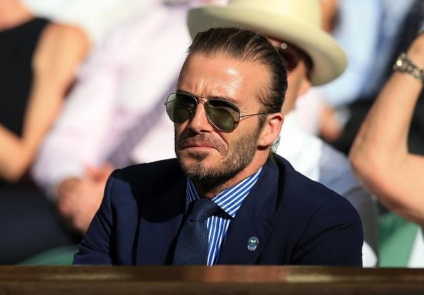 Beckham dua me den san co vu Murray, Nadal hinh anh