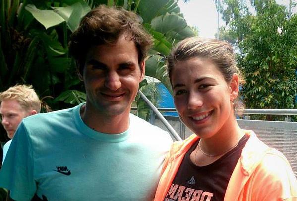 Nu tan vuong Wimbledon mong duoc khieu vu voi Federer hinh anh