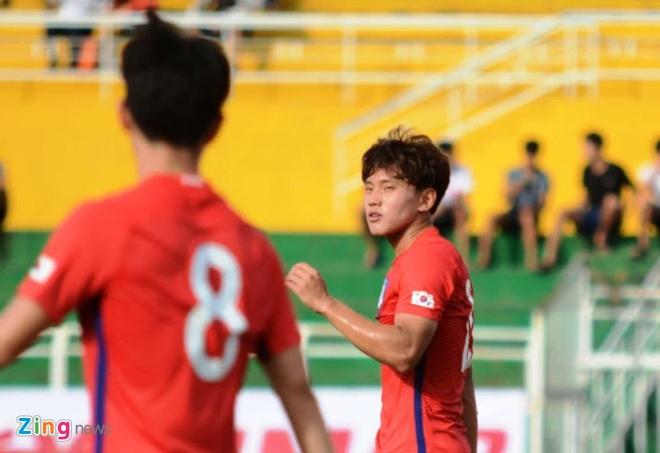 U22 Han Quoc 0-0 U22 Dong Timor: HLV Huu Thang mim cuoi hinh anh 5