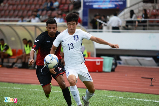 U22 Han Quoc 0-0 U22 Dong Timor: HLV Huu Thang mim cuoi hinh anh 10