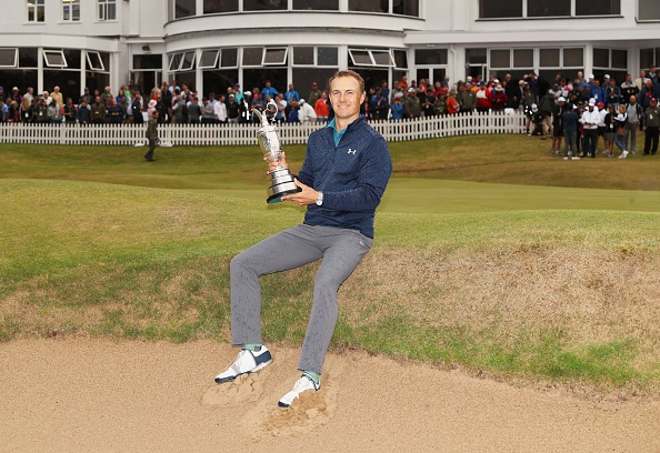 Spieth dang quang The Open Championship hinh anh