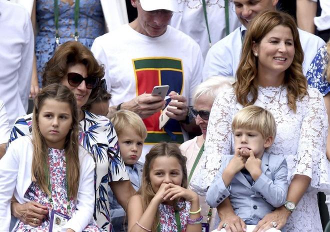 Federer sac lai nang luong sau chuc vo dich Wimbledon hinh anh 7