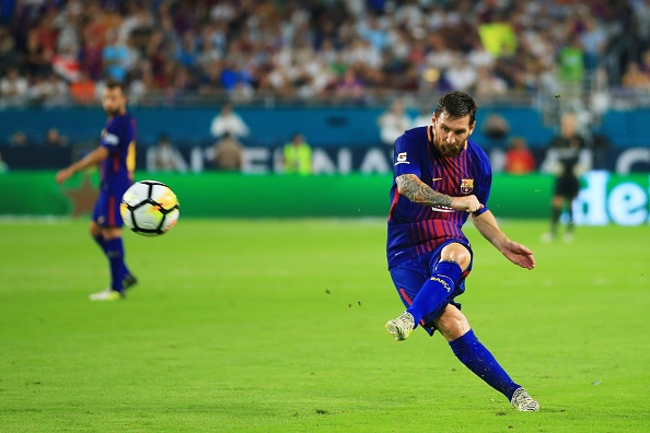 Real Madrid vs Barcelona (2-3): Messi solo ghi ban hinh anh 1