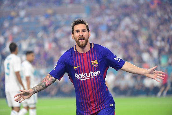 Real Madrid vs Barcelona (2-3): Messi solo ghi ban hinh anh