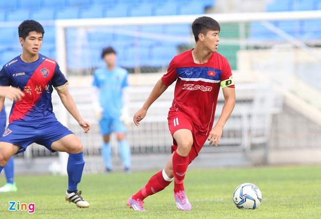 Busan FC vs U22 Viet Nam (1-6): Cong Phuong lap cu dup hinh anh 11