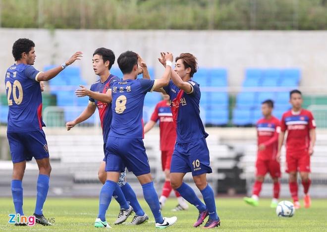 Busan FC vs U22 Viet Nam (1-6): Cong Phuong lap cu dup hinh anh 3