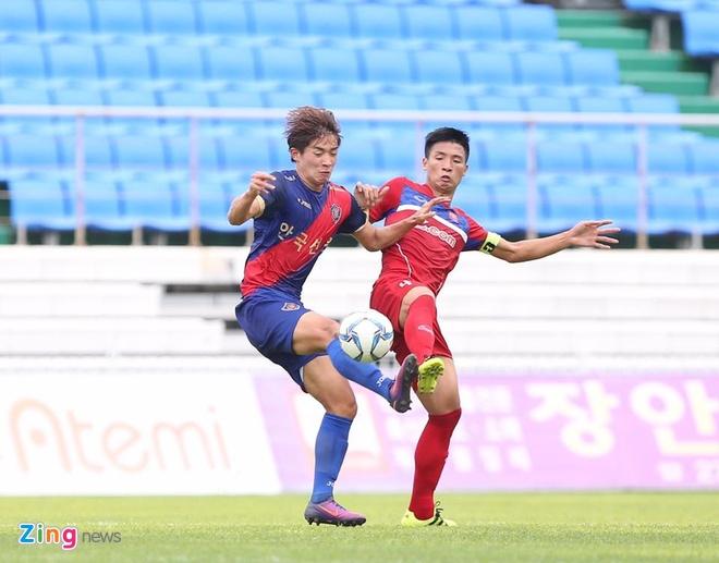 Busan FC vs U22 Viet Nam (1-6): Cong Phuong lap cu dup hinh anh 5