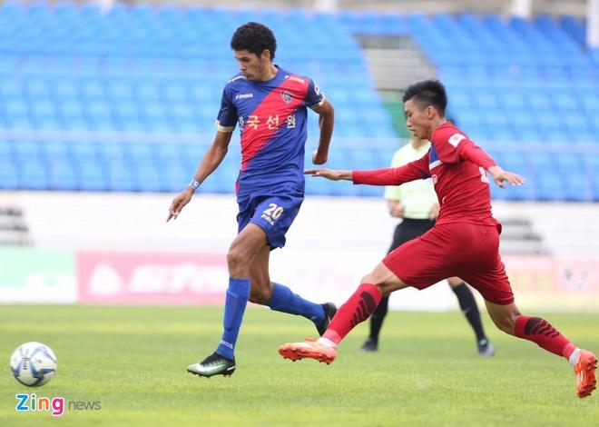 Busan FC vs U22 Viet Nam (1-6): Cong Phuong lap cu dup hinh anh 7