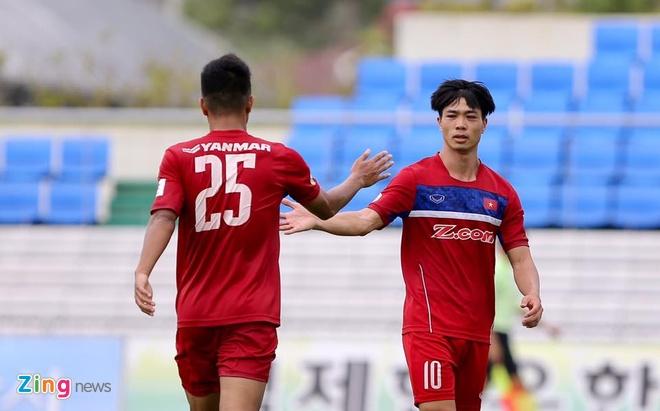 Busan FC vs U22 Viet Nam (1-6): Cong Phuong lap cu dup hinh anh 8