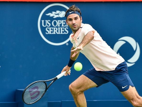 Federer nguoc dong ha Ferrer de vao tu ket Rogers Cup hinh anh