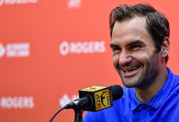 Federer vao ban ket Rogers Cup, tien gan hon toi ngoi so 1 the gioi hinh anh