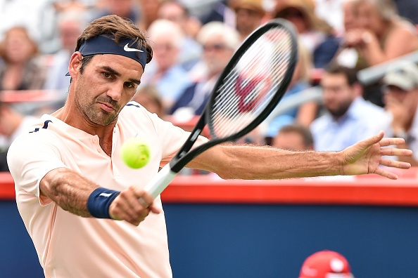 Highlights Federer 2-0 Bautista Agut hinh anh