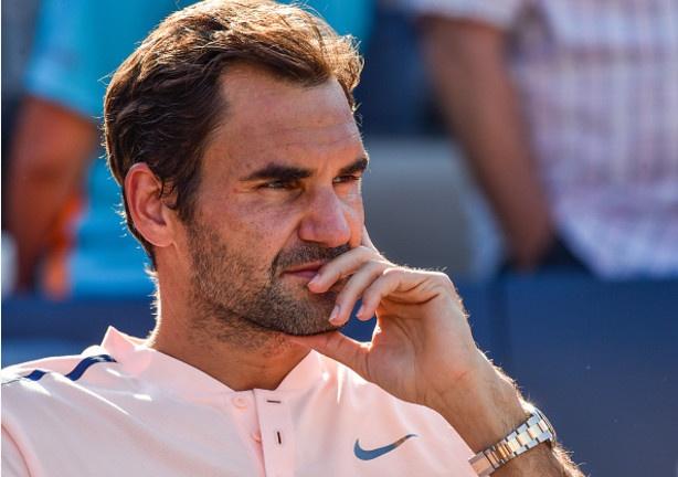 Federer guc nga o chung ket Rogers Cup hinh anh