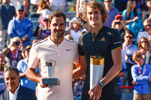 Chung ket Rogers Cup: Federer 0-2 Zverev hinh anh