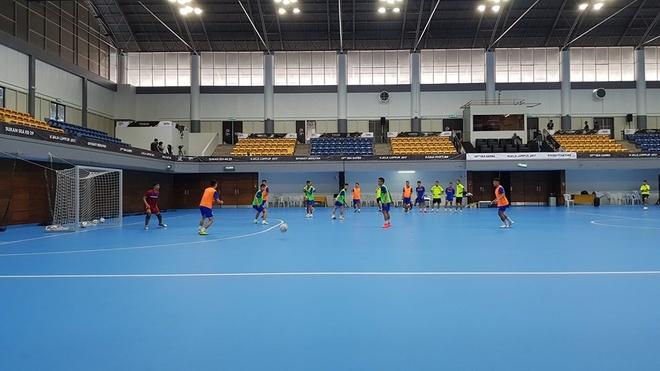 Tuyen futsal nu quyet tam lat do Thai Lan o SEA Games hinh anh 2