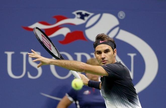 Federer thoat hiem sau 5 set o tran ra quan US Open hinh anh