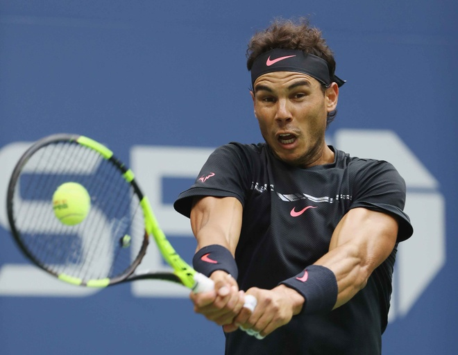 Vo dich US Open, Nadal con cach Federer 3 danh hieu Grand Slam hinh anh 9