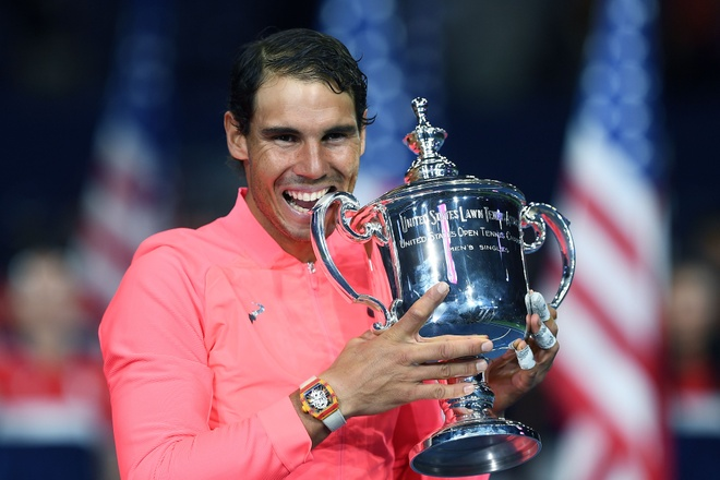 Vo dich US Open, Nadal con cach Federer 3 danh hieu Grand Slam hinh anh