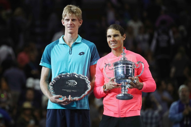 Vo dich US Open, Nadal con cach Federer 3 danh hieu Grand Slam hinh anh 1