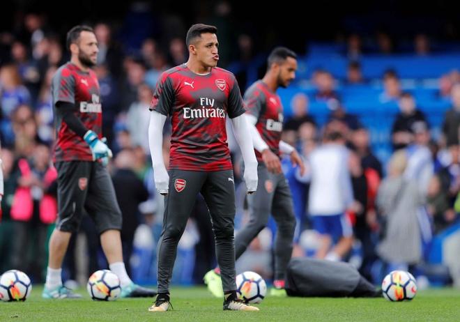 Chelsea 0-0 Arsenal: Doi khach an mung hut, David Luiz nhan the do hinh anh 13