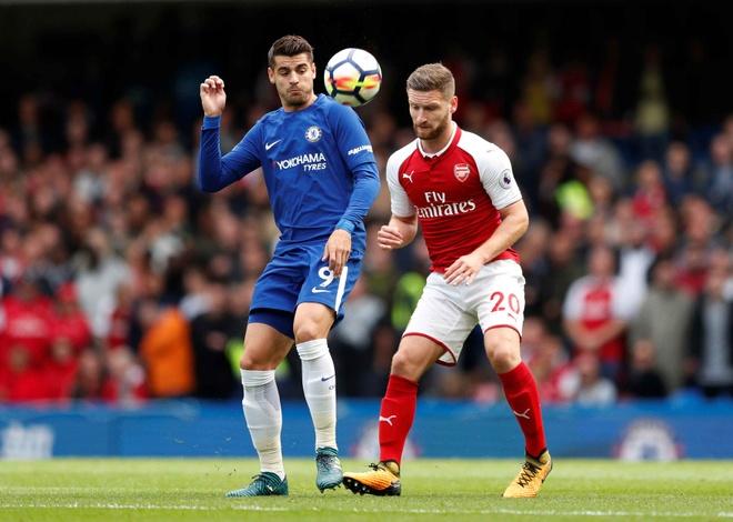 Chelsea 0-0 Arsenal: Doi khach an mung hut, David Luiz nhan the do hinh anh 15