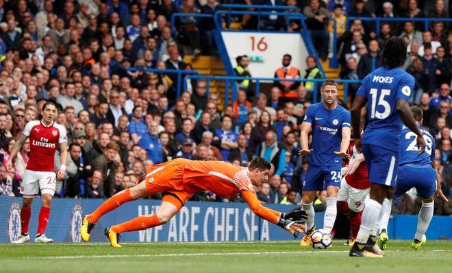 Chelsea 0-0 Arsenal: Doi khach an mung hut, David Luiz nhan the do hinh anh 16