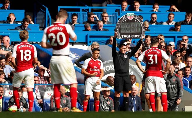 Chelsea 0-0 Arsenal: Doi khach an mung hut, David Luiz nhan the do hinh anh 23