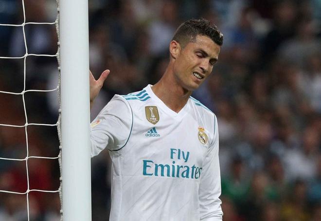 Ronaldo tai lap ky luc buon o tran thua cua Real hinh anh