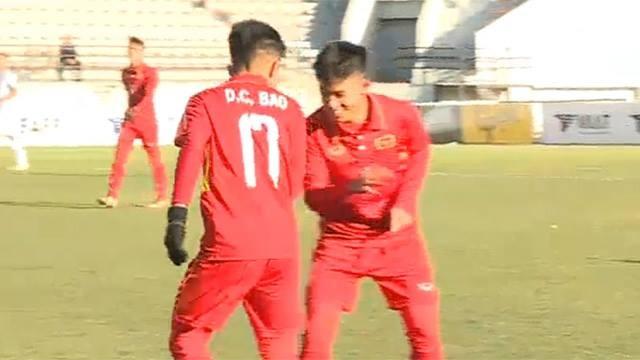 Thang dam chu nha 9-0, U16 Viet Nam se quyet chien Australia hinh anh