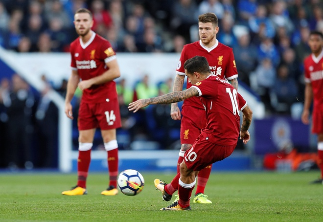 Coutinho ghi ban dang cap, Liverpool thang kich tinh Leicester hinh anh 14