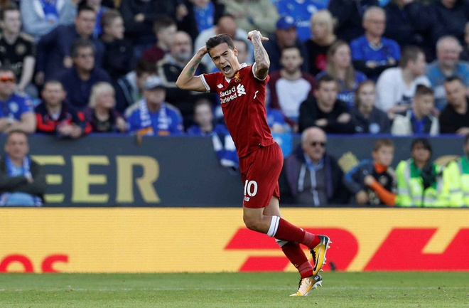 Coutinho ghi ban dang cap, Liverpool thang kich tinh Leicester hinh anh 16