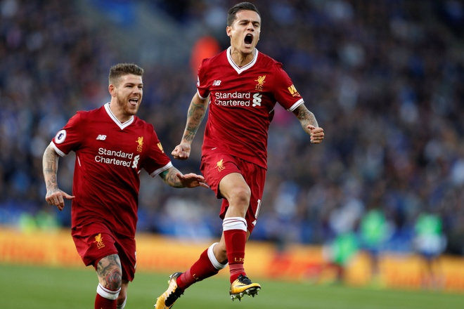 Coutinho ghi ban dang cap, Liverpool thang kich tinh Leicester hinh anh 1