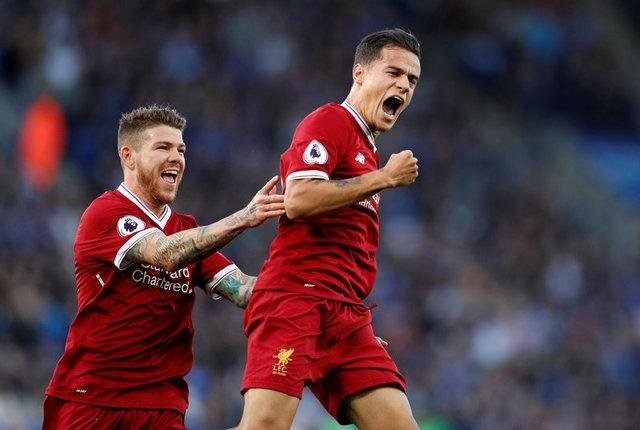 Coutinho ghi ban dang cap, Liverpool thang kich tinh Leicester hinh anh