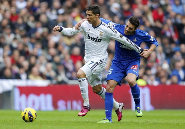 Getafe vs Real Madrid (1-2): Ronaldo lap cong chuoc loi hinh anh 6