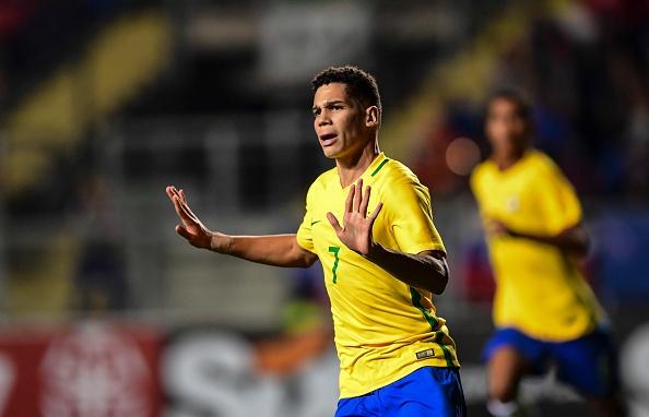 Nguoc dong thang Duc, Brazil vao ban ket U17 the gioi hinh anh
